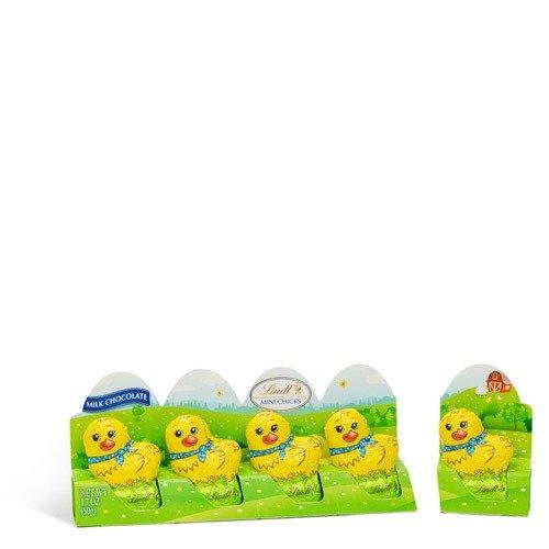 复活节迷你小鸭子形状巧克力,5个装