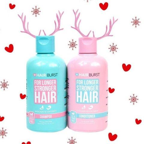 7.5折 洗发香波等也有Hairburst 护发保健品热卖 收蕾哈娜同款生发维他命