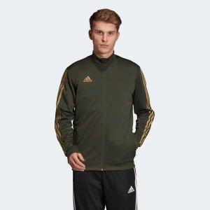Adidas男士足球运动夹克
