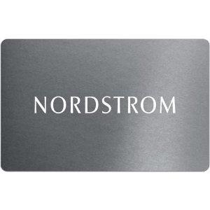 仅售$50Nordstrom $50礼卡,送$10 Newegg 礼卡