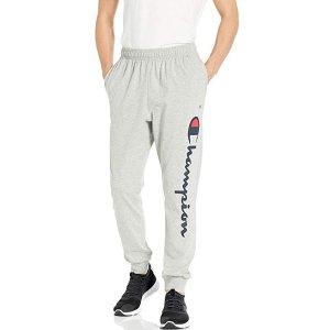 $16.59(原价$30.00)Champion 男子休闲运动长裤 两色可选