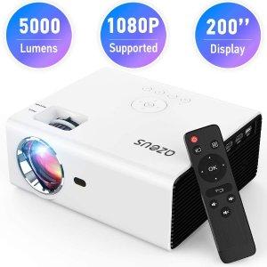 AZEUS RD-822 720p 5000流明 迷你投影仪 带扬声器