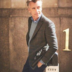 低至7.5折+包邮Charles Tyrwhitt 男士复古英伦外套 羊绒毛衣折上折热卖
