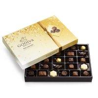 节日款金标巧克力礼盒27粒