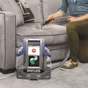 $124.99(原价$169.99)史低价:Hoover 便携式地毯/纺织品表面清洗机