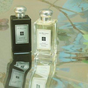 低门槛送2件9ml香水独家:Jo Malone官网 全场香氛热卖 收新品无花果与莲花香水