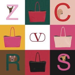 低至5折+免关税包邮2021来啦:Valentino 年末贴心好礼 $183收VLTN晒货实用卡包
