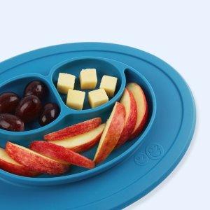 低至$15.72 美亚1600+评价 4.4高分好评史低价:EZPZ 儿童一体式餐盘垫 多色可选