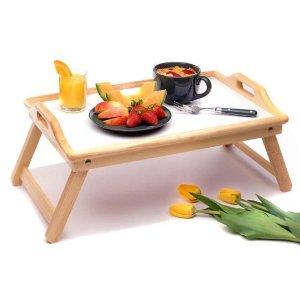 再降$25.97 (原价$44)销量冠军!Winsome Wood 可折叠实木早餐桌/笔记本电脑桌