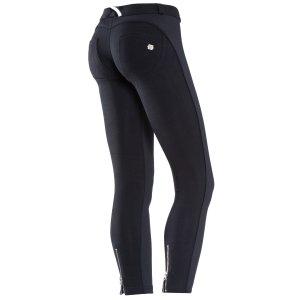 黑色九分裤