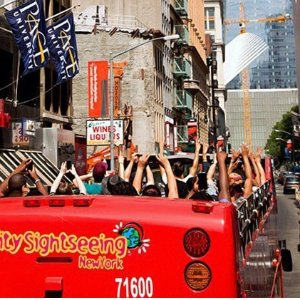 From $52Double-Decker Bus Tour with One World Observatory Visit for One or Two