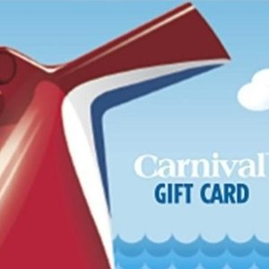 Only $185Carnival Cruise $200 Gift Card Sales @Newegg