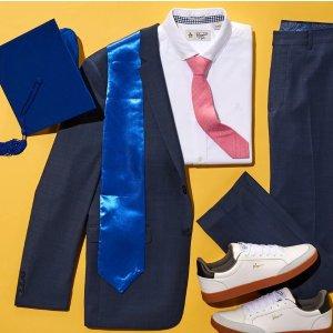 满$100减$20Original Penguin 毕业季男士衬衫、西裤等促销