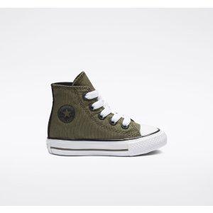 Converse小童高帮帆布鞋