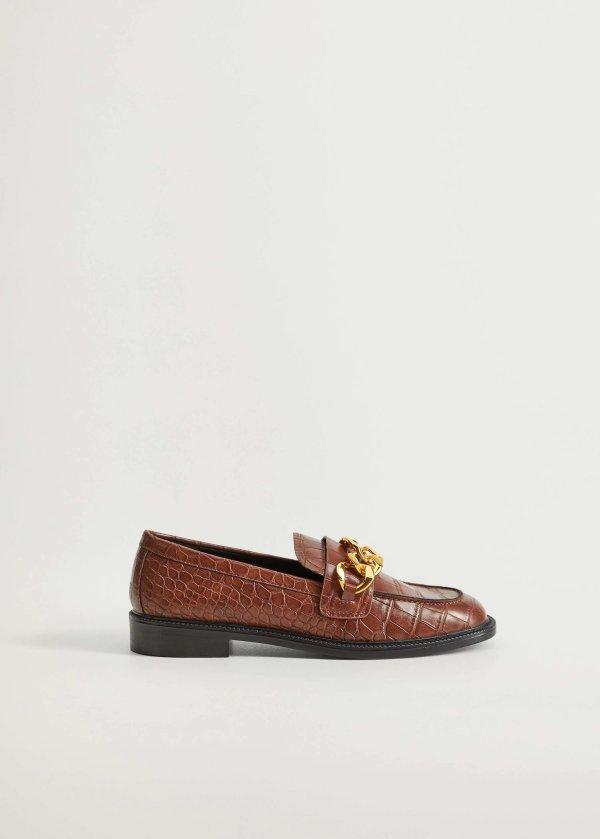 金扣乐福鞋