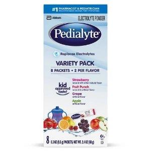 Pedialyte Oral Electrolyte Solution Powder - 8pk