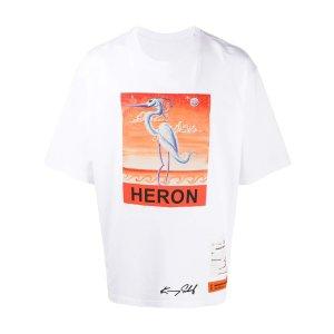 Heron Prestonx Kenny Scharf 仙鹤T恤