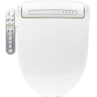 woot! BioBidet Prestige BB-800 Round White Bidet Toilet Seat
