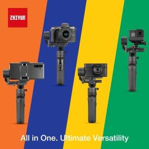 $199智云 Crane M2 三轴稳定器 可以装卡片机、运动相机、手机