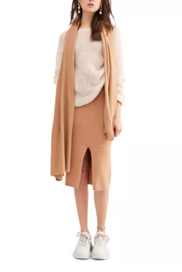 毛衣半身裙