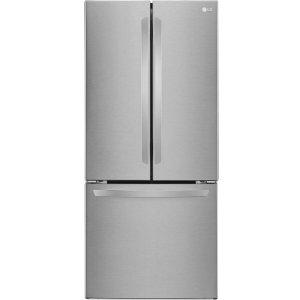 $299.99逆天价:LG - 21.8 Cu. Ft 法式三开门冰箱