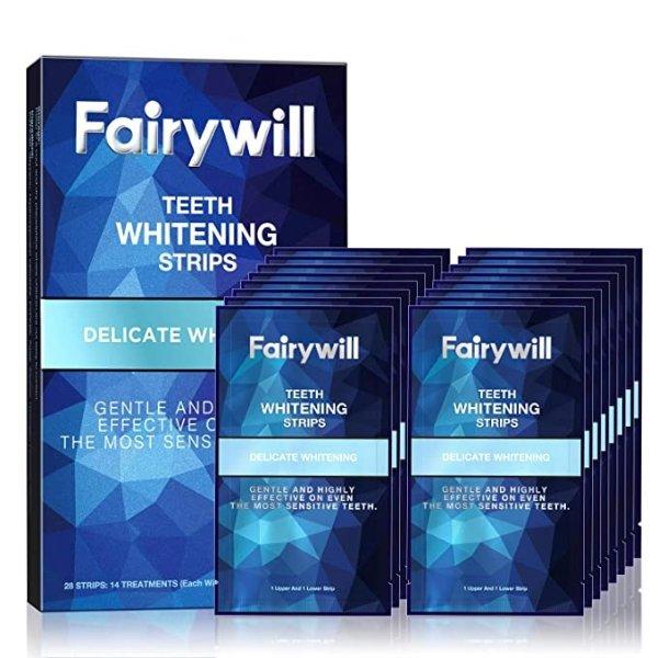 Fairywill 美白牙贴28片特价 适用于敏感牙齿