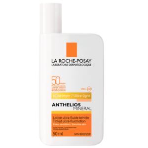 La Roche-Posay润色效果,提亮肌肤 不泛白,成膜快润色 大哥大防晒 SPF 50