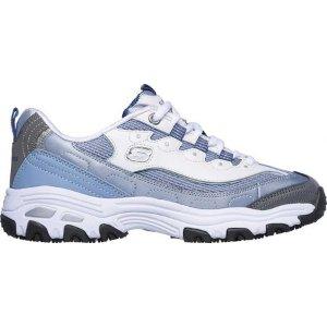 Skechers蓝色熊猫鞋