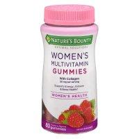 Nature's Bounty 女性复合维生素软糖 树莓味 50mg 80粒