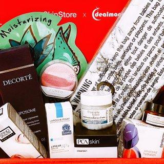 SkinStore × DM 联名礼盒    一次性All in火爆明星单品新体验‼️