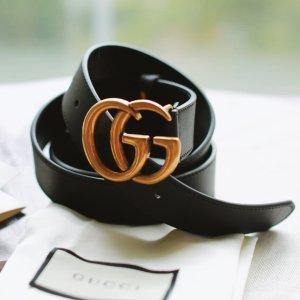 双G断货王$365(原$435)SSENSE 时尚腰带专场 Gucci、YSL等大牌定价优势