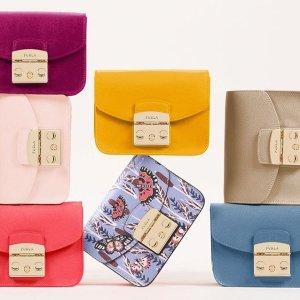低至5折Furla官网 精选美包配件优惠,收百搭小方包