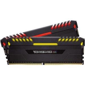 $114.99Corsair Vengeance RGB DDR4 3000 16GB (2x8GB) Desktop Memory