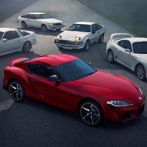 牛魔王复活 将有八种颜色丰田性能跑车 Toyota Supra 的前世今生