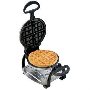 现价$29.99(原价$59.99) 5折黑五预告:Hamilton Beach 华夫饼机 自带不粘涂层 早餐好伴侣