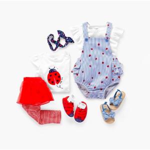 2件套$8.8 5件包臀衫$11.2Belk Carter's 童装特卖 可享4折