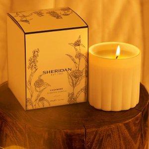 5折起 超值套装$48入Sheridan 卧室扩香藤条、香薰蜡烛特价 气味温和 手工煅烧