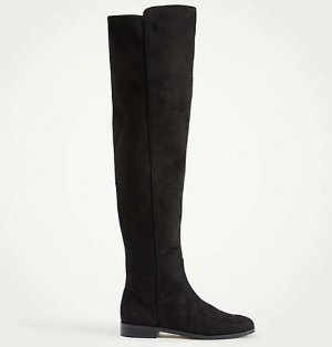 Carlene Suede Over The Knee Boots