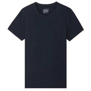 Women Organic Cotton Crew Neck Short Sleeve T-Shirt