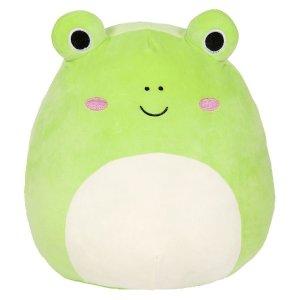 Squishmallow大眼蛙抱枕