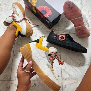 古力娜扎同款Puma 与视觉艺术家Sue Tsai联名款 限量三明治厚底鞋