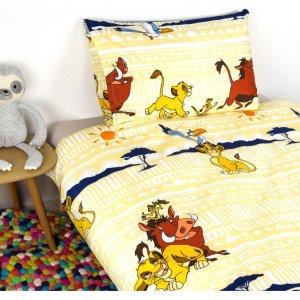 仅$19.19收 狮子王床品套装Disney 迪士尼系列超萌周边 收治愈床品、毛绒背包