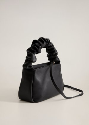 Pleated strap bag -  Women | Mango USA