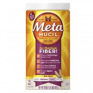 Metamucilmultihealth fiber dietary fiber supplement/therapy for regularity, original coarse, 29 oz (1.8 Lb) 822 g