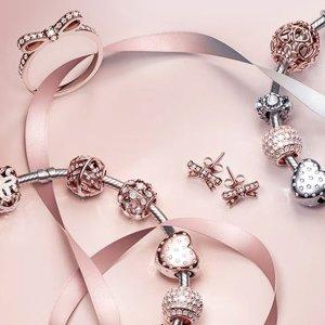 网上盲买攻略 省去店内排队活动延期: PANDORA 购Rose系列满$179 赠Rose心形扣手链(价值$119)