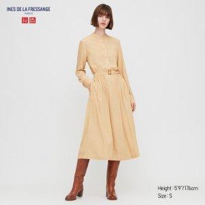 Uniqlo驼色连衣裙