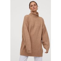 H&M Oversized 高领毛衣