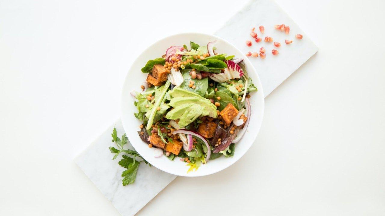 吃草精指南 | 常见沙拉底菜和中英文对照