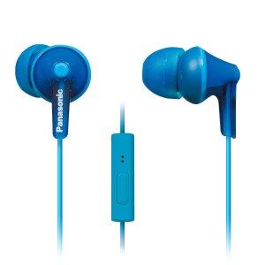 $8.94PANASONIC ErgoFit 耳机 带线控麦克风 蓝色
