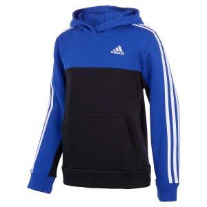 Adidas截止到9/17儿童抓绒连帽卫衣,三色选